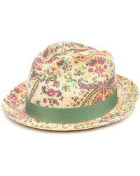 Etro Шляпа С Принтом Пейсли - Многоцветный