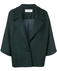 Chalayan - Drape Shoulder Jacket - Lyst