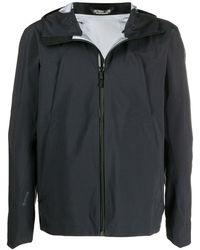 Arc'teryx Куртка На Молнии С Капюшоном - Черный
