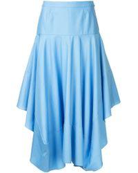 Stella McCartney Poppy スカート - ブルー