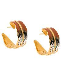 Gas Bijoux - Enamelled Earrings - Lyst