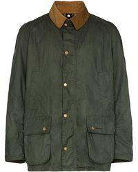 Barbour Ashby Lightweight Cotton Jacket - Green