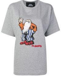 Marc Jacobs R. Crumb Print T-shirt - Gray