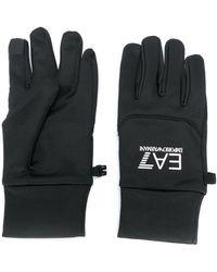 EA7 ロゴ 手袋 - ブラック