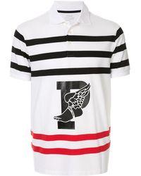 Ralph Lauren Poloshirt Met Print - Wit