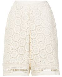 See By Chloé - Shorts de ganchillo - Lyst