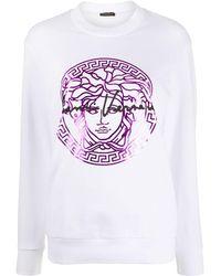 Versace Толстовка С Принтом Medusa - Белый