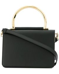 Ferragamo - Metallic Handle Tote - Lyst