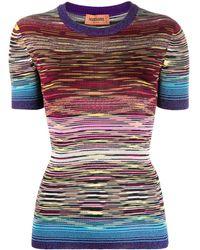 Missoni Top a righe - Multicolore