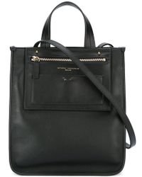 Anthony Vaccarello - Square Tote - Lyst