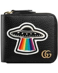 Gucci | Leather Coin Wallet With Ufo | Lyst