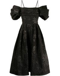 Rasario Aライン ドレス - ブラック