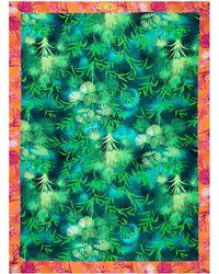 Versace Toalla Jungle - Azul