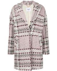 Blugirl Blumarine - Knitted Midi Coat - Lyst