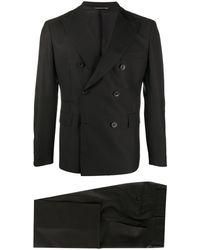 Tonello ダブルスーツ - ブラック