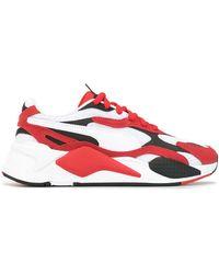 PUMA Zapatillas con paneles Rs-X3 - Rojo