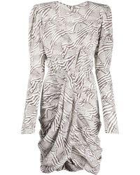 Isabel Marant - シャーリング ドレス - Lyst