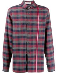 Bally Клетчатая Куртка-рубашка - Многоцветный