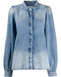 Essentiel Antwerp Denim Shirt - Blauw