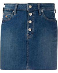 Calvin Klein デニムスカート - ブルー