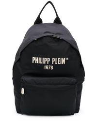 Philipp Plein Рюкзак Среднего Размера С Логотипом - Черный