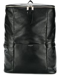 Saint Laurent Sid Zipped Backpack - Black