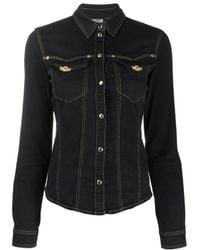 Versace Jeans Couture - Camicia denim - Lyst