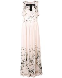 Blanchett Dame - Bow Applique Maxi Dress - Lyst