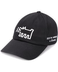 Etudes Studio X Keith Haring Booster Embroidered Cap - Black