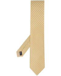 Ferragamo - Cravate à motif monogrammé - Lyst