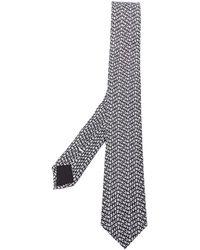 Givenchy Галстук С Логотипом - Черный