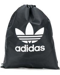 adidas ドローストリング バックパック - ブラック