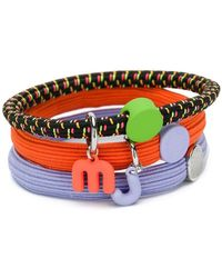 Marc Jacobs Logo Triple Bracelets - Orange