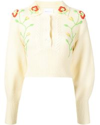 Alice McCALL Day Lily Cropped Sweater - Multicolour