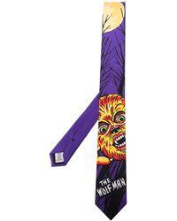 Moschino Cravate x Universal Wolfman - Violet