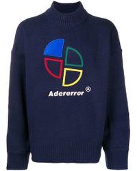 ADER error - Logo Embroidered Sweater - Lyst