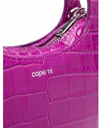Coperni Bolso Micro Baguette Swipe - Rosa