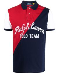 Polo Ralph Lauren - ロゴ カラーブロック ポロシャツ - Lyst