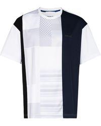 Koche パッチワーク Tシャツ - マルチカラー