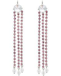 Dangling crystal earrings Miu Miu qDOU04y