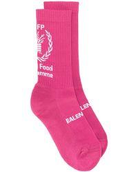 Balenciaga World Food Programme 靴下 - ピンク