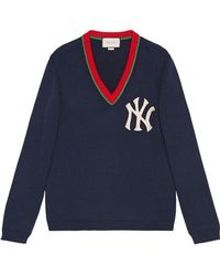 Gucci - Sweater With Ny Yankeestm Patch - Lyst