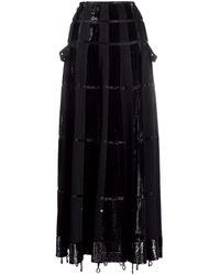 Dior 2000s プレオウンド Aラインスカート - ブラック