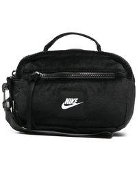 Nike ロゴパッチ ハンドバッグ - ブラック