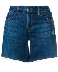 J Brand - Johnny Denim Shorts - Lyst