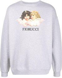 Fiorucci 'Vintage Angels' Sweatshirt - Grau