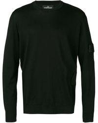 Stone Island Shadow Project - Sweater Met Logopatch - Lyst