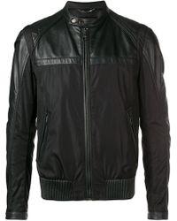 Dolce & Gabbana - Leather-panelled Jacket - Lyst