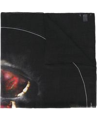Givenchy Monkey Brothers Scarf - Black