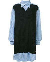 Maison Margiela - Shirt Jumper Dress - Lyst